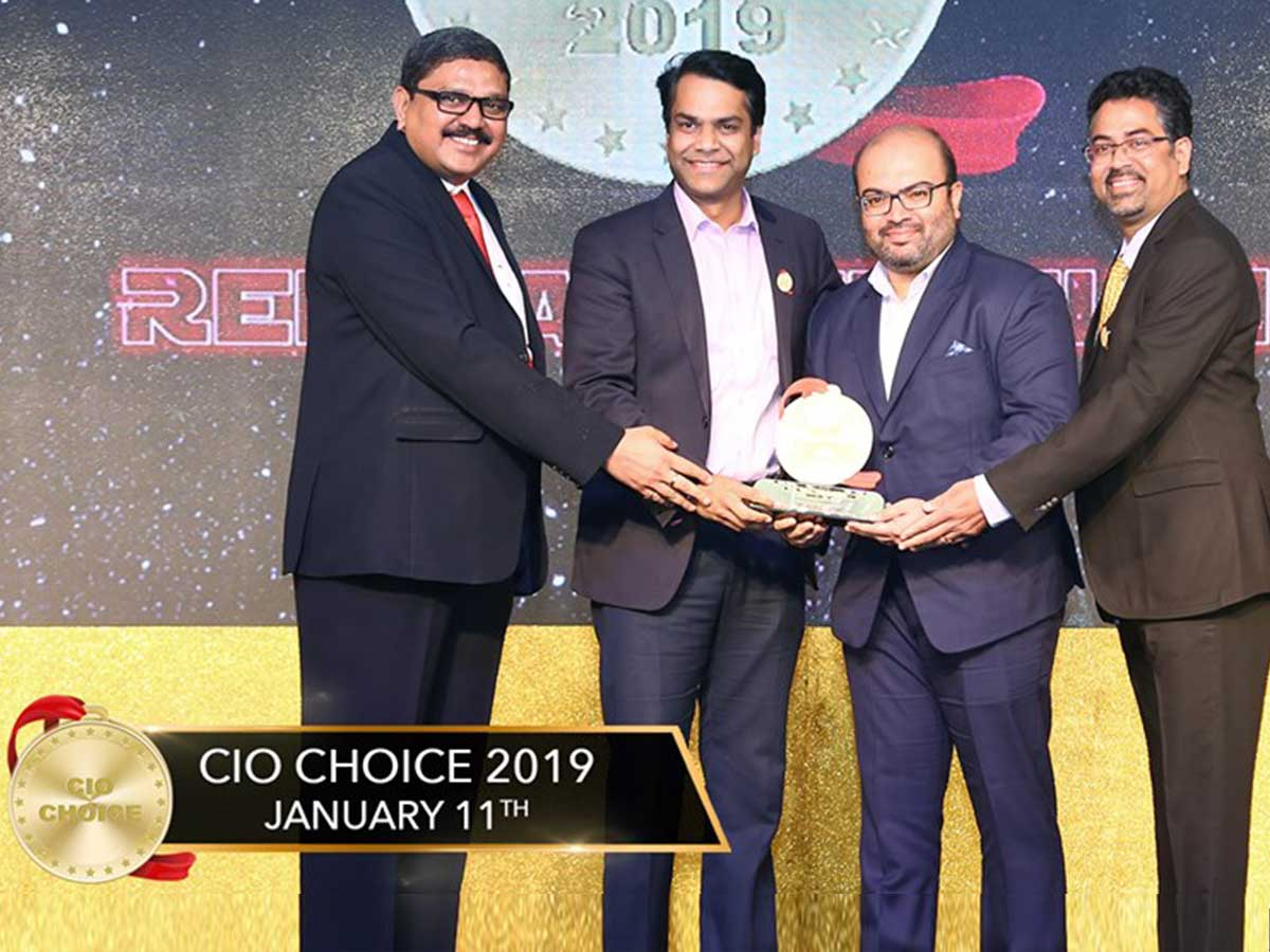 CIO CHOICE 2019 RECOGNITION
