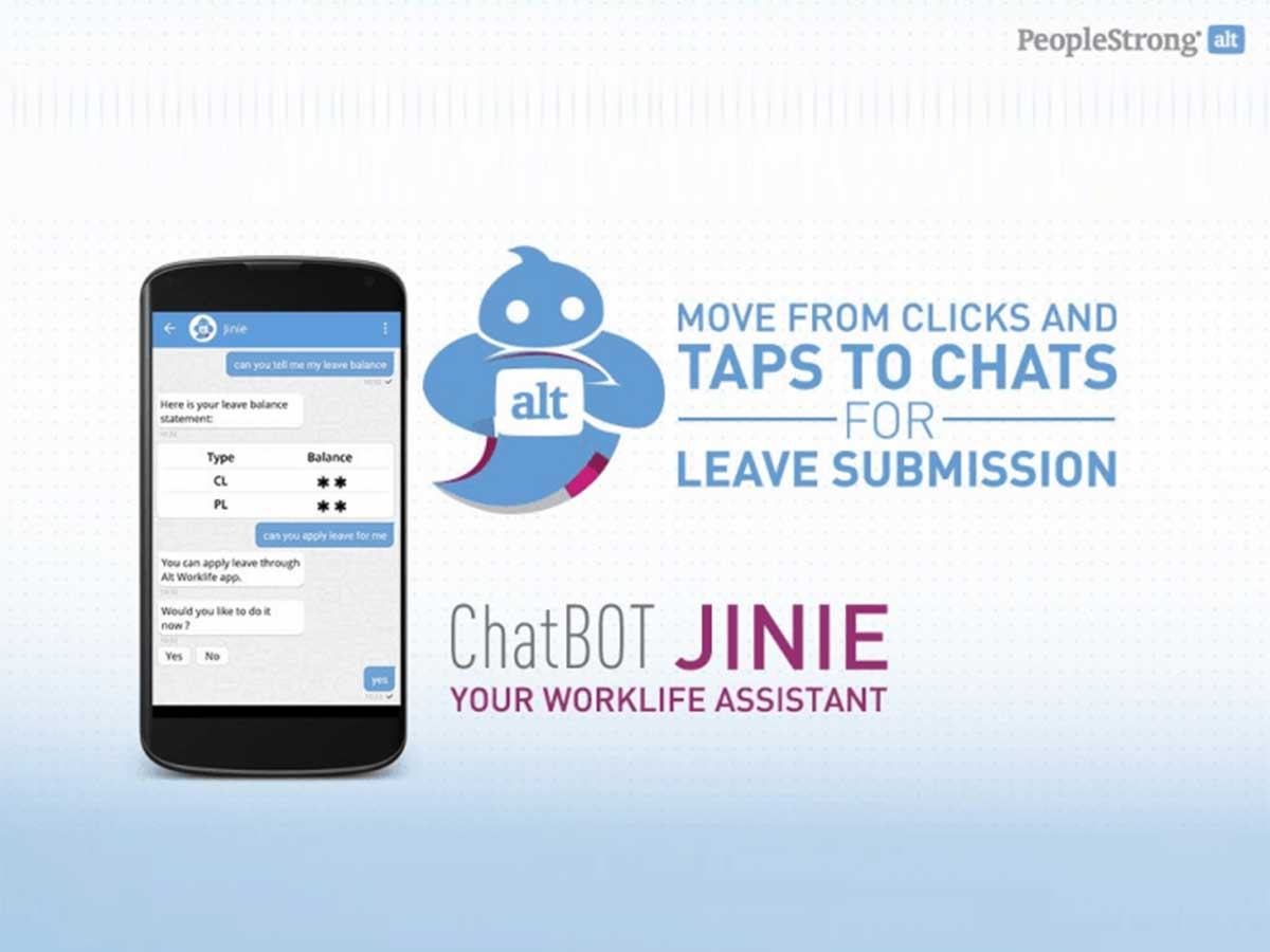 Indias first HR chatbot Jinie launched by PeopleSt...