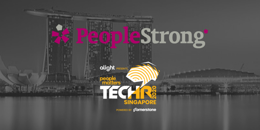 PeopleStrong partners as the Gold Partner at TechH...