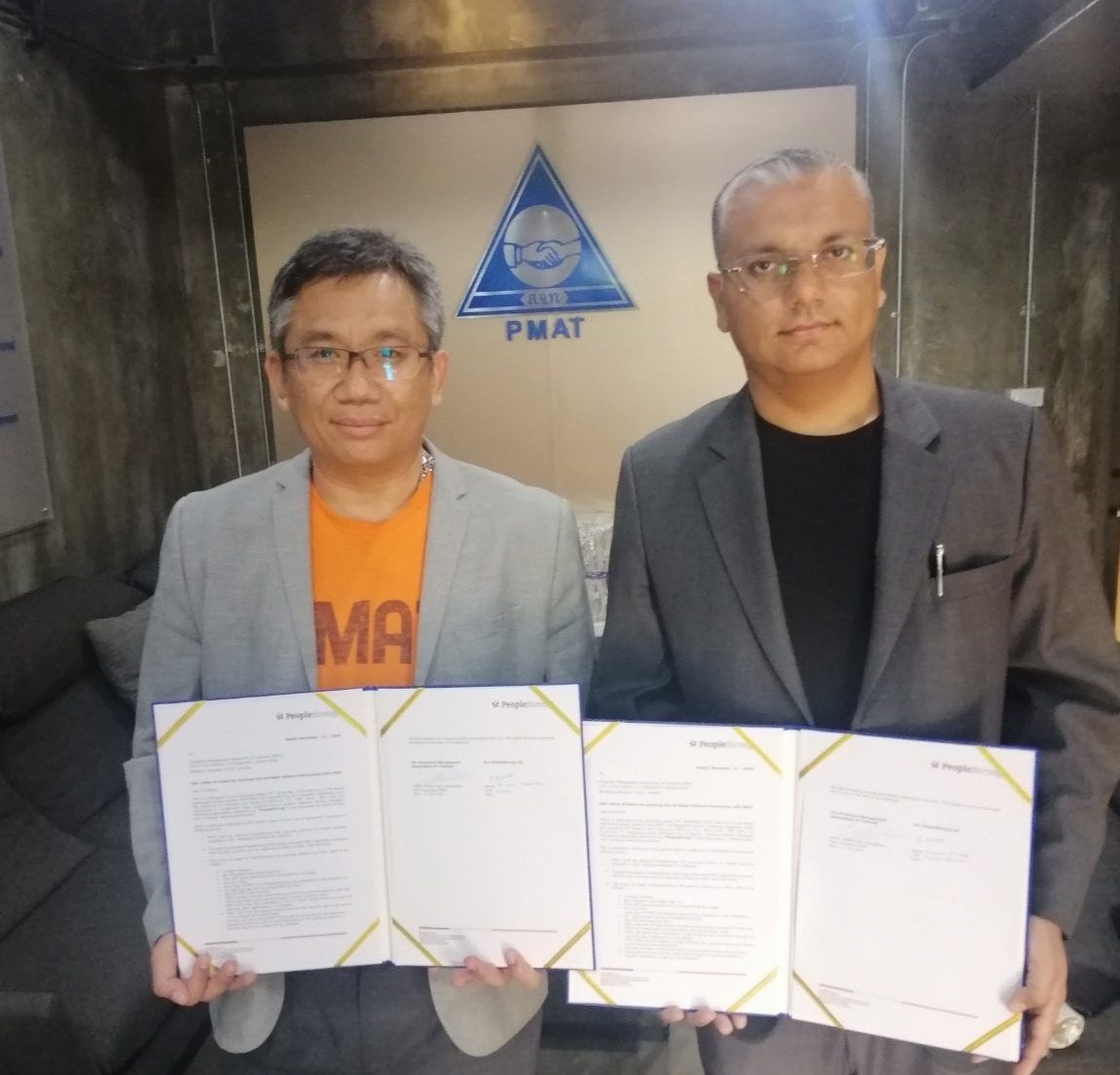 PMAT and PeopleStrong partner to accelerate Digital Transformation in Thailand's HR industry
