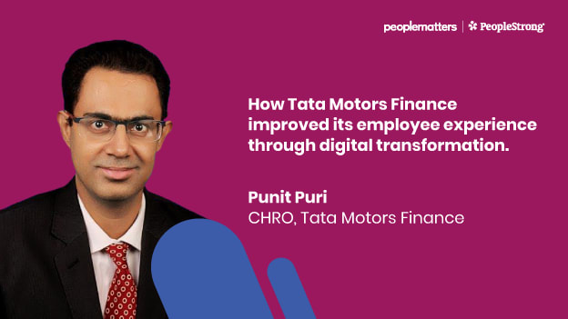 How Tata Motors Finance improved its employee experience through digital transformation